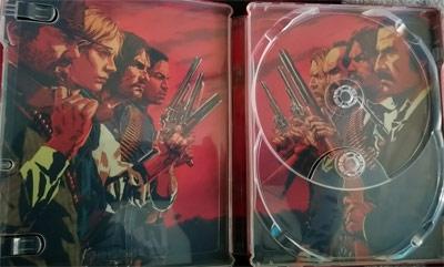 Carátula interior Red Dead Redemption 2
