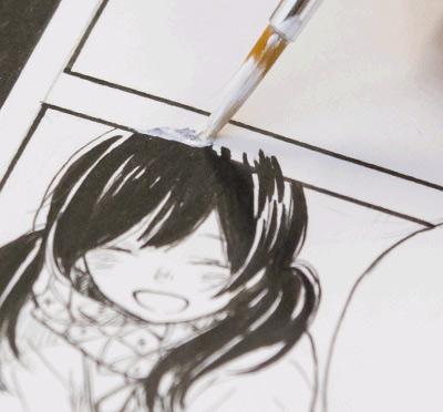 Materiales para dibujar manga cuando la liamos