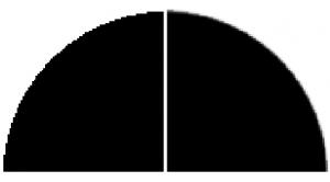 Diferencia entre entintado monocromo y escala de grises