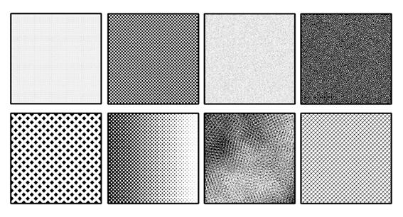 Diferentes tipos de tramas/screentones para tus mangas